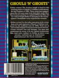 Ghouls 'N Ghosts Commodore 64 Back Cover
