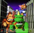 Rampage World Tour PlayStation Inside Cover Left Side