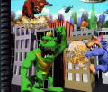 Rampage World Tour PlayStation Inside Cover Right Side