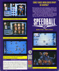 Speedball 2: Brutal Deluxe DOS Back Cover