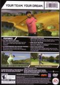 Tiger Woods PGA Tour 07 Windows Back Cover