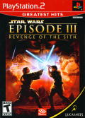 Star Wars: Episode III - Revenge of the Sith PlayStation 2 Front Cover