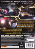 Need for Speed: Carbon Xbox 360 Back Cover