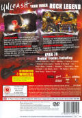 Guitar Hero III: Legends of Rock PlayStation 2 Back Cover
