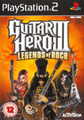 Guitar Hero III: Legends of Rock PlayStation 2 Front Cover