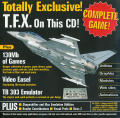 TFX Amiga Front Cover CD Front Inlay (Front)