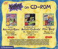 Rugrats Adventure Game Macintosh Back Cover