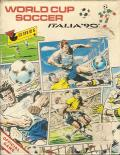 Rick Davis's World Trophy Soccer ZX Spectrum Front Cover