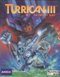 Turrican 3 Amiga Front Cover