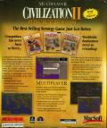 Civilization II (Multiplayer Gold Edition) Macintosh Back Cover