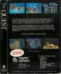 The Quest Commodore 64 Back Cover