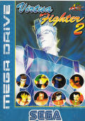 Virtua Fighter 2 Genesis Front Cover