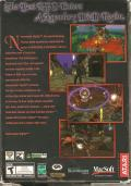 Neverwinter Nights: Hordes of the Underdark Macintosh Back Cover