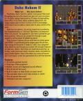 Duke Nukem II DOS Back Cover
