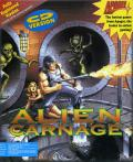 Alien Carnage DOS Front Cover