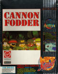 Cannon Fodder Amiga Front Cover