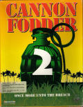 Cannon Fodder 2 Amiga Front Cover
