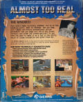 Police Quest 3: The Kindred Amiga Back Cover