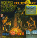 Golden Axe Amstrad CPC Back Cover