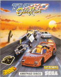 Turbo Out Run Amstrad CPC Front Cover