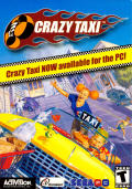 Crazy Taxi Windows Front Cover
