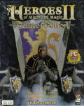 Heroes of Might and Magic II (Deluxe Edition) DOS Front Cover