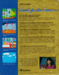 King's Quest Amiga Back Cover
