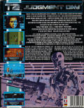 Terminator 2: Judgment Day Amiga Back Cover