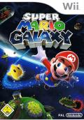 Super Mario Galaxy Wii Front Cover
