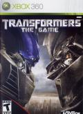 Transformers: The Game Xbox 360 Front Cover