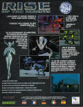 Rise of the Robots Amiga Back Cover