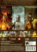 The Elder Scrolls IV: Oblivion - Game of the Year Edition Windows Back Cover