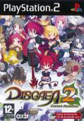 Disgaea 2: Cursed Memories PlayStation 2 Front Cover
