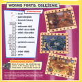 Worms Forts: Under Siege Windows Back Cover