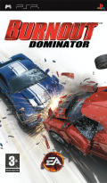 Burnout Dominator PSP Front Cover