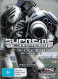 Supreme Commander (Collector's Edition) Windows Front Cover with plastic slip cover