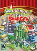 The Sims: Carnival - SnapCity Windows Front Cover