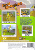 The Simpsons Skateboarding PlayStation 2 Back Cover