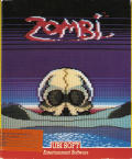 Zombi Commodore 64 Front Cover