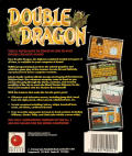 Double Dragon Commodore 64 Back Cover