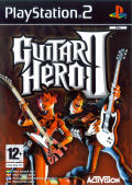 Guitar Hero II PlayStation 2 Front Cover