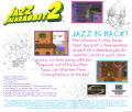 Jazz Jackrabbit 2 Windows Other Jewel Case - Back