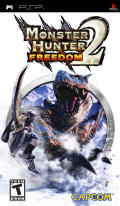 Monster Hunter Freedom 2 PSP Front Cover