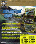 Destruction Derby DOS Back Cover
