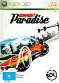 Burnout Paradise Xbox 360 Front Cover