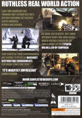 Conflict: Denied Ops Windows Back Cover