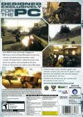 Tom Clancy's Ghost Recon: Advanced Warfighter 2 Windows Other Keep Case - Back