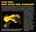 Star Trek: Deep Space Nine - Harbinger DOS Back Cover
