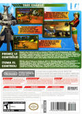 BWii: Battalion Wars 2 Wii Back Cover