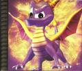 Spyro the Dragon PlayStation Inside Cover